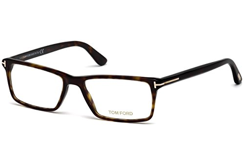 Preisvergleich Produktbild Tom Ford - FT 5408, Rechteckig, allgemein, Herrenbrillen, DARK HAVANA(052), 58/16/145