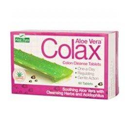 Aloe Pura - Aloe Vera Colax Colon Cleanse - 60 Tabs from Aloe Pura