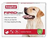 Fiprotec Spot On Solution for Large Dogs (3 Treatments)