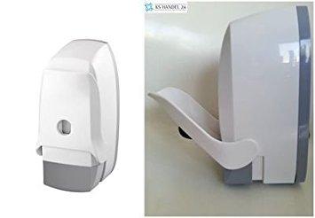 Bisk Codo Funciona con dispensador de jabón, Color Blanco, 500ML