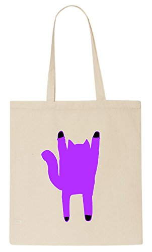 Ghost Kitty Art T-Shirt Tote Bag