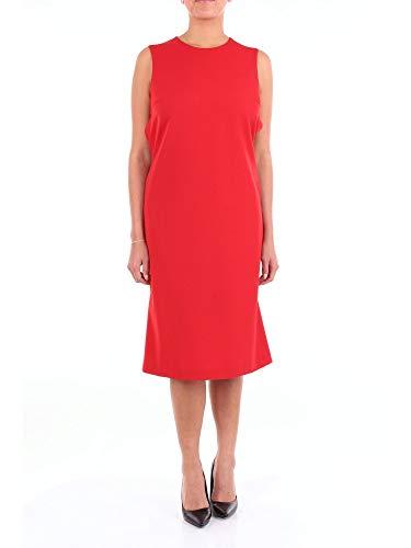 Maison Margiela Damen S51ct0973s49189rosso Rot Polyester Kleid