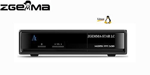 ZGEMMA STAR LC FTA Receptor De TV Por Cable Linux OS Enigma2 Digital Full HD DVB-C Decodificador /Sintonizador De Cable