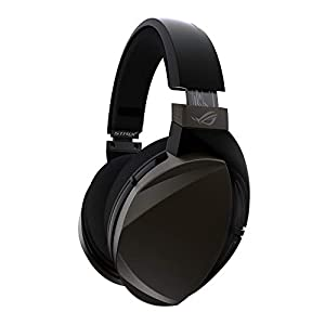 ASUS ROG Strix Fusion Wireless Gaming Headset for PC and PlayStation 4 with low-latency 2.4GHz wireless connection