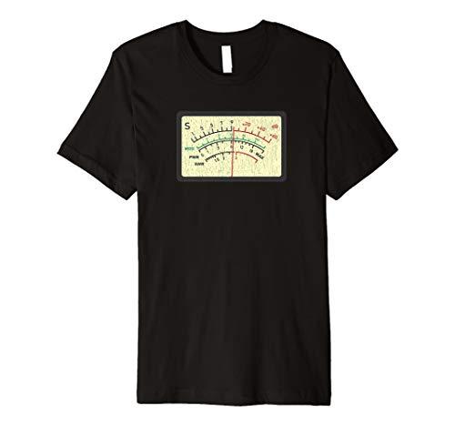 SWR-Meter Amateur Ham Radio Neuheit Distressed T-Shirt
