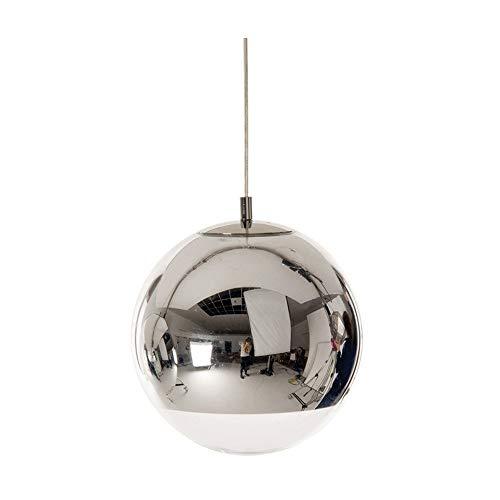 PETRLOY Nordic Kreativität Galvanisiertes Glas Mini Pendelleuchte Sphärische Chromspiegelleuchte Einstellbare Hohle Pendelleuchte Leuchte Restaurant Hängende Beleuchtung Bar Küche Kronleuchter Insel F (Gold Mini-kuchen-sockel)