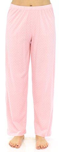 Sleepyheads Ensemble de pyjama femme à manches longues à boutons coton vêtement de nuit Roses à Pois Blancs