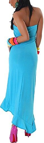 Jela London - Robe - Crayon - Uni - Femme Türkis
