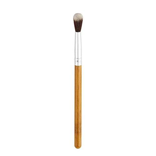 GJKK Professionelles Lidschattenpinsel Bambus Griff Kunstfaser Lidschatten Pinsel High Light Augen Make-up Pinsel Highlighter Kosmetik Pinselset Maskenpinsel Kosmetik Kosmetikpinsel ()