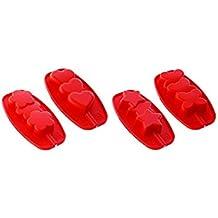 silikomart Kit de 12 moldes para piruletas de Helado con Forma de Mariposa, corazón,
