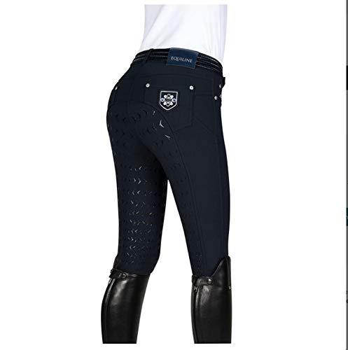 Equiline Damen Reithose Degrade Nelly FS18 Hosengrößen 36, Farbe blau