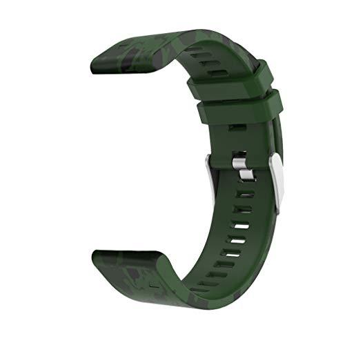 Schnelles Installationsband aus Silicagel-Top-Ersatz Beisoug für Garmin Fenix 5 Plus