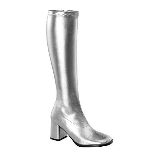 Pleaser - Gogo300/W, Scarpe da donna Silber