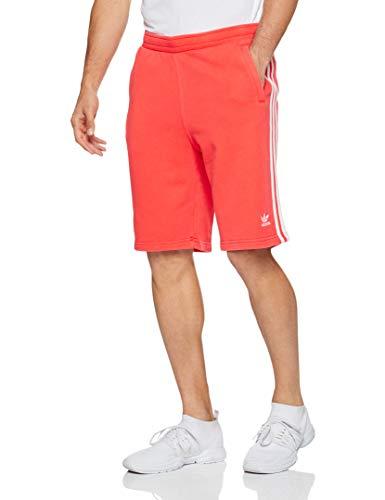 adidas Herren Classic 3-Stripes Shorts, Bright Red, L