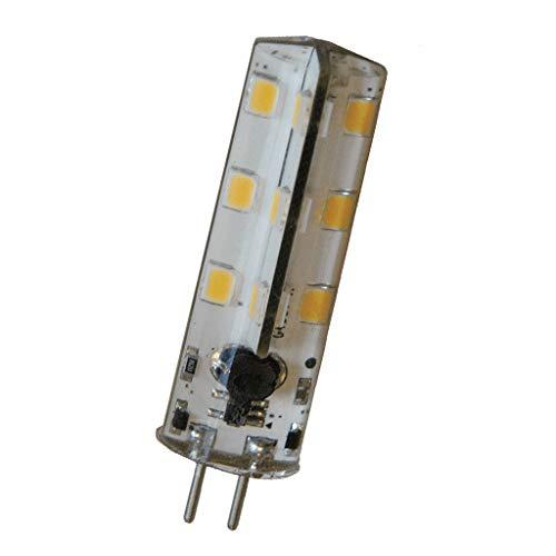SMD LED-Zylinder 24x warm weiß, 12V 2W, GU5.3 -
