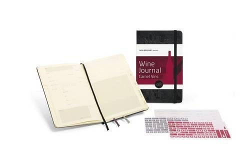 Moleskine Passion Journal - Wine, Large, Hard Cover (5 x 8.25) (Passion Book Series) by Moleskine (2010) Diary