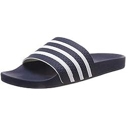 adidas O35510 Adilette - Chanclas para Hombre, Hombre, Color Azul y Blanco, tamaño Size 16