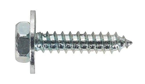 Sealey ASW8 Acme viti con rondella, M8 x 3 cm/10,16 (4 zinco BS 7976/6903/B, confezione da 100 pezzi, colore: 1