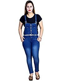 17025cccb87c8 Amazon.in  Blues - Jumpsuits   Dresses   Jumpsuits  Clothing ...