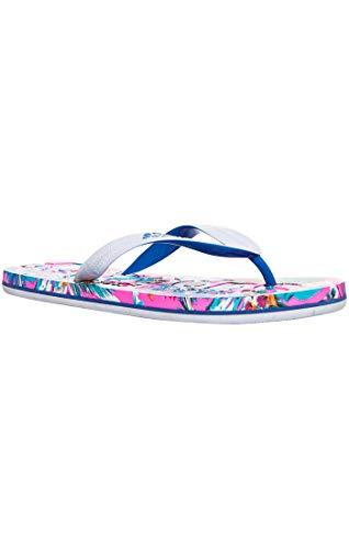 Superdry Damen AOP Flip Flop Dusch- & Badeschuhe, Mehrfarbig (Neon Tropical Yv7), 38-39 EU