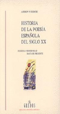 Historia poesia española siglo xx (VARIOS GREDOS)
