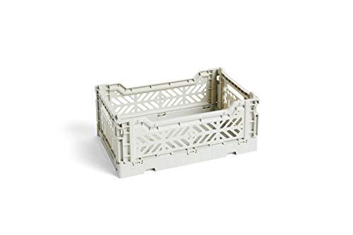 HAY - Colour Crate S Korb - Hellgrau -