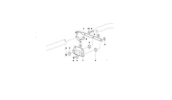 BMW Genuine Exhaust System Suspension Bracket E46 18301439284