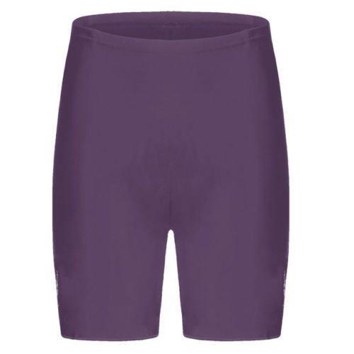 EN COTON ET LYCRA ÉLASTIQUES POUR FEMME-DESSUS DU GENOU ACTIVE/CASUAL SHORT DE VÉLO/SPORT-COLLANT-FEMME Violet - Violet