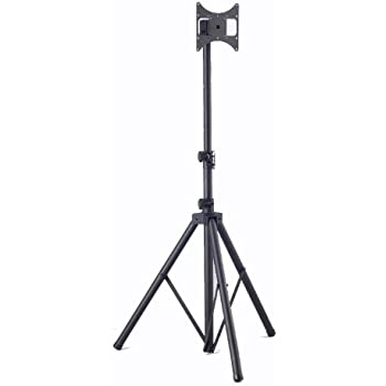 Elitech Steel Portable Plasma Or Lcd Tv Tripod Stand For