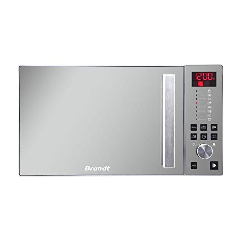 Brandt SE2616W Comptoir 26L Miroir, Blanc micro-onde - Micro-ondes (Comptoir, 26 L, boutons, Rotatif, Miroir, Blanc, Vers le haut, Gauche)