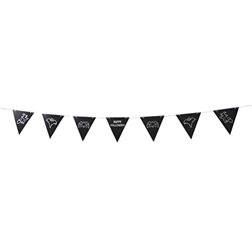 ma Banner Dreieck Flagge Hexe Bunting Banner Papier Garland Burgee Party Favors Supplies ()