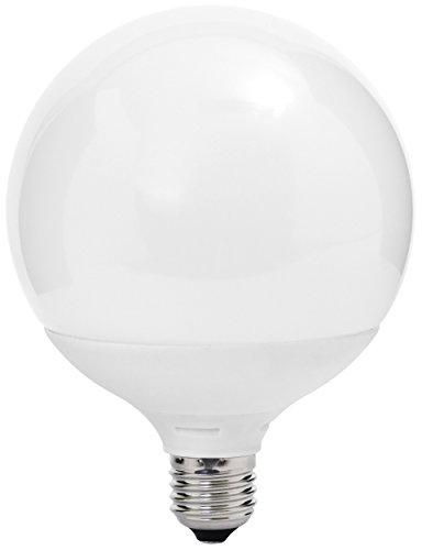 MÜLLER-LICHT 400050 A+, LED Lampe Globeform ersetzt 75 W, Plastik, 13 W, E27, weiß, 16,4 x 12 x 12 cm dimmbar
