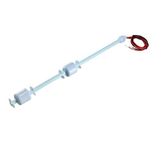 uxcell Double Ball Water Level Sensor Liquid Controller, vertikale Schwimmerschalter, blau