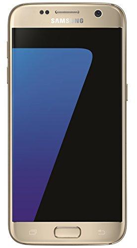 Samsung Galaxy S7 Smartphone débloqué 4G (Ecran : 5,1 pouces - 32 Go - 4 Go RAM - Simple Nano-SIM - Android) Or (Import Allemagne)