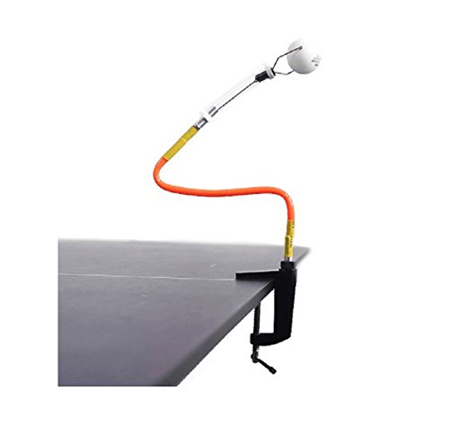 le Tisch Tennis Training Robot Feste Rapid Rebound Ping Pong Ball Machine Tisch Tennis-Trainer für streicheln ()