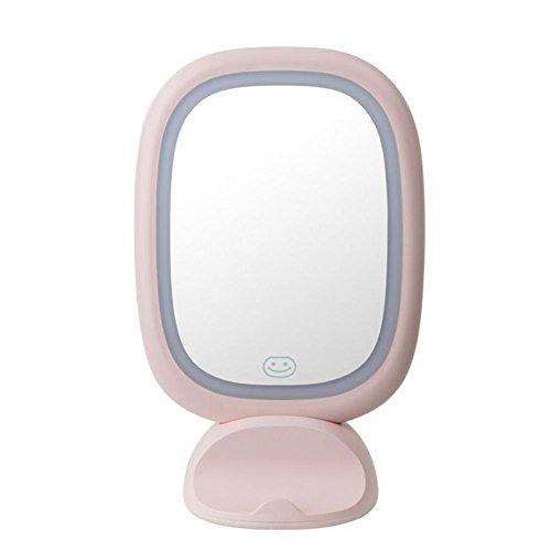 LED Make-up Spiegel Prinzessin Make-up Spiegel Make-up Licht USB Lade Desktop Spiegel , fairy powder