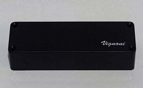 vignoni Pickups–Soap schwarz Pickup für Bass 4corde. Humbucker (Griff)