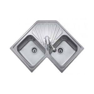 Teka TEK-10118005 Fregadero Acero 10118005, 18/8 Stainless Steel