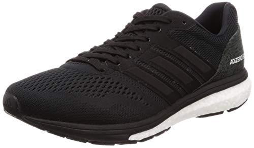 adidas Herren Adizero Boston 7 m Laufschuhe Schwarz Core Black/FTWR White/Carbon, 44 EU