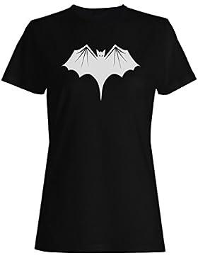 HAPPY HALLOWEEN BAT FUNNY NOVELTY NUEVO camiseta de las mujeres -k15f