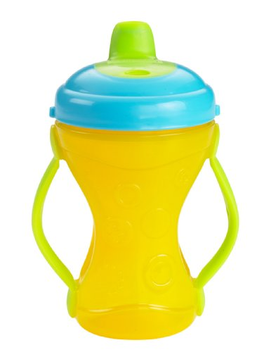 Fisher-Price Two-Grip Travel Sippy Cup Hard Spout (Colors May Vary)
