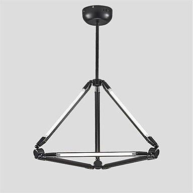 Histone Lampe suspension 40w, caractéristique de peinture traditionnelle ,classique pour mini style bois ,bambou salon ,chambre ,salle à , black
