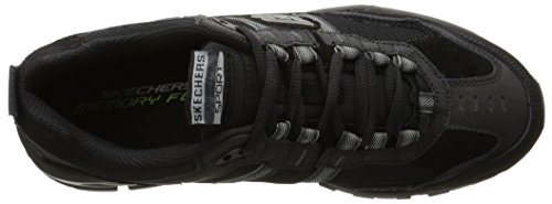 Skechers Sport Men's Vigor 2.0 Trait Memory Foam Sneaker,Black,12 XW US Black