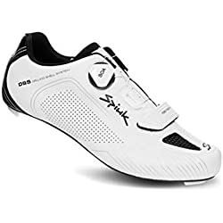 Spiuk Altube Road Zapatilla, Unisex Adulto, Blanco Mate, 43