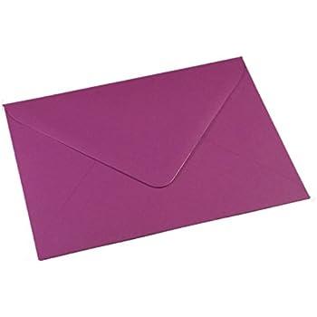 50Enveloppes C6de couleur violet pour cartes A6et x–114mm x 162mm 100g/m²