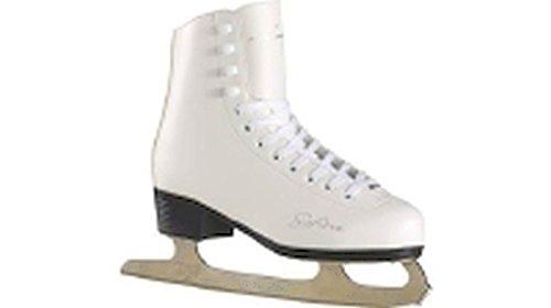 Tecnopro Damen Eiskunstlauf-Schuh Marina 1.0 Schlittschuhe, weiß/Silber, 42