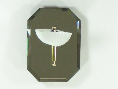 Achteck Wandlampe Leuchte inklusive Leuchtmittel (Achteck-spiegel)