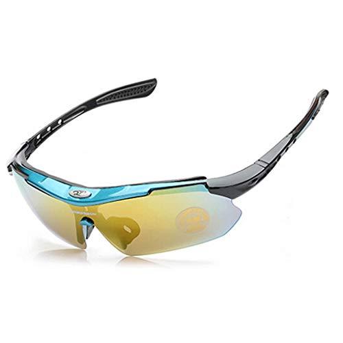 YouYou-YC Outdoor-Reitbrille Fahrradbrille Mountainbike-Brille Männer und Frauen Laufen Sportspiegel Sandschutzbrille Farbe Sonnenbrille (Color : #3)