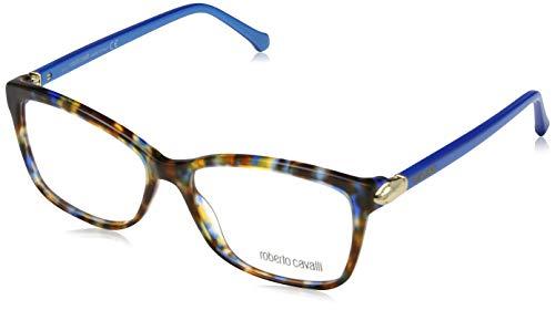 Roberto Cavalli Damen RC0940 055-55-15-140 Brillengestelle, Mehrfarbig, 55