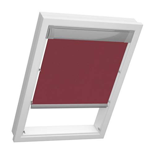Ventanas de techo térmico persianas para ventana velux ventana - Luxa Flex - protector solar ventanas GPL GGU GPU VL VK VKU, Bordeaux 8275, GGL GPL GGU GPU M06/M08